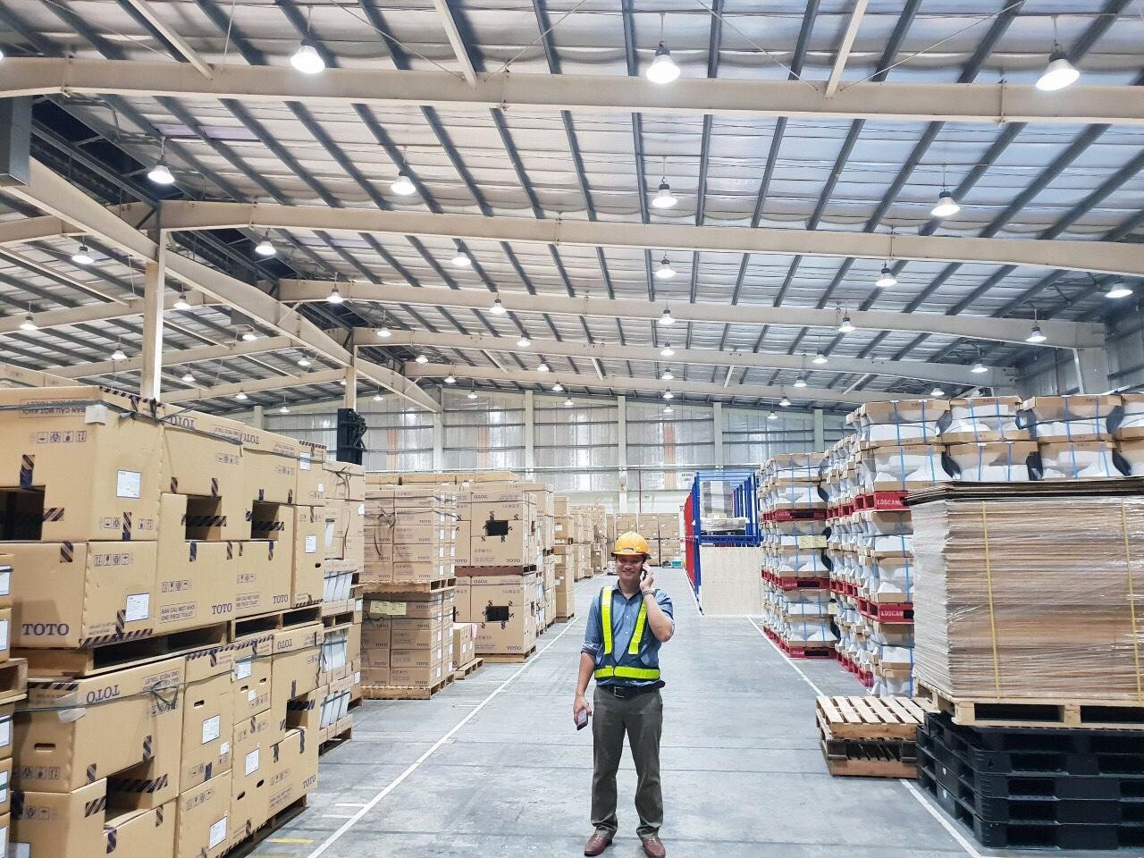 Dự án đèn led nhà xưởng công ty TNHH YuSen Logistics(Việt Nam)