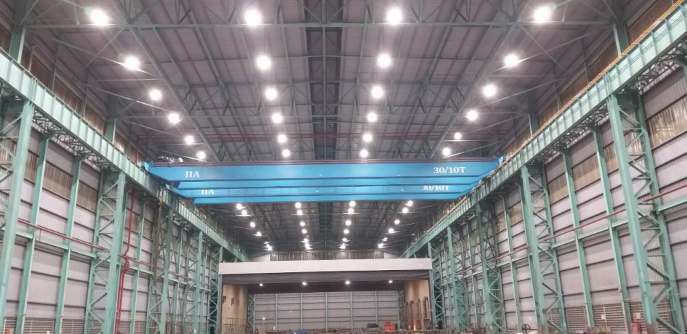 Thi công lắp đặt hệ thống đèn led phòng nổ cho công ty TNHH IHI Infrastructure Asia (IIA) Nhật Bản tại Việt Nam