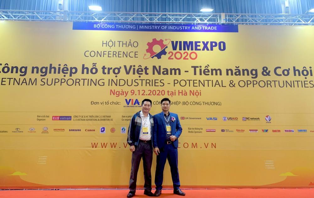GBN THAM DỰ TRIỂN LÃM QUỐC TẾ VIMEXPO 2020
